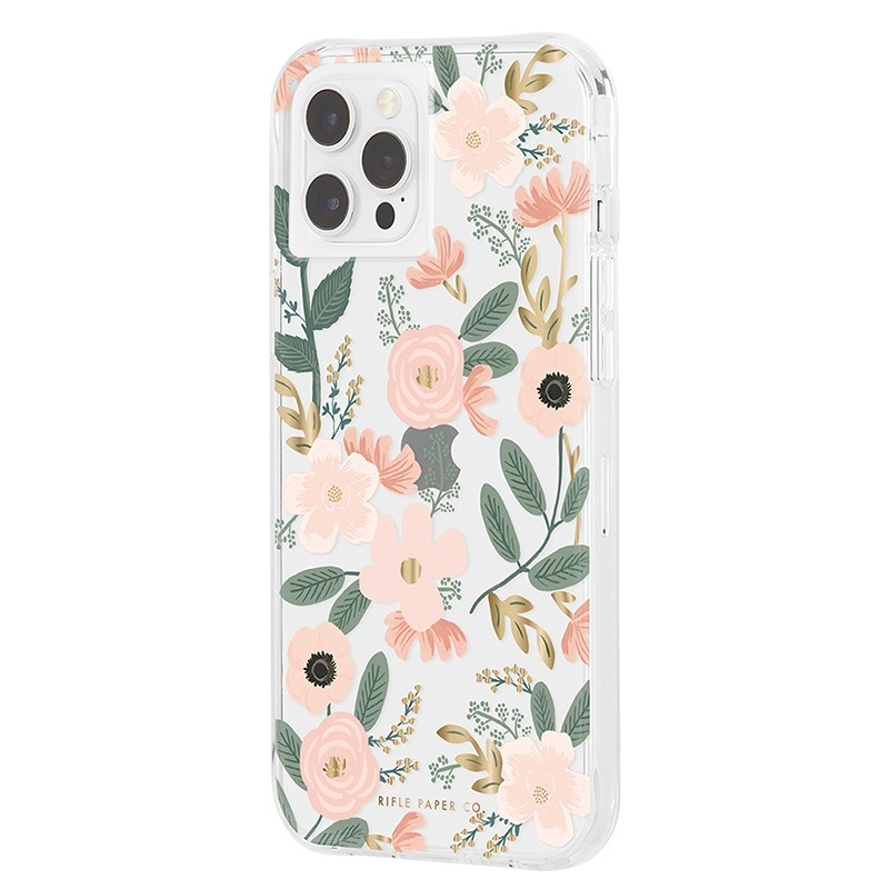 Case-Mate - Rifle Paper Flower Case iPhone 12 Pro Max 6.7 inch Wild Flowers 02