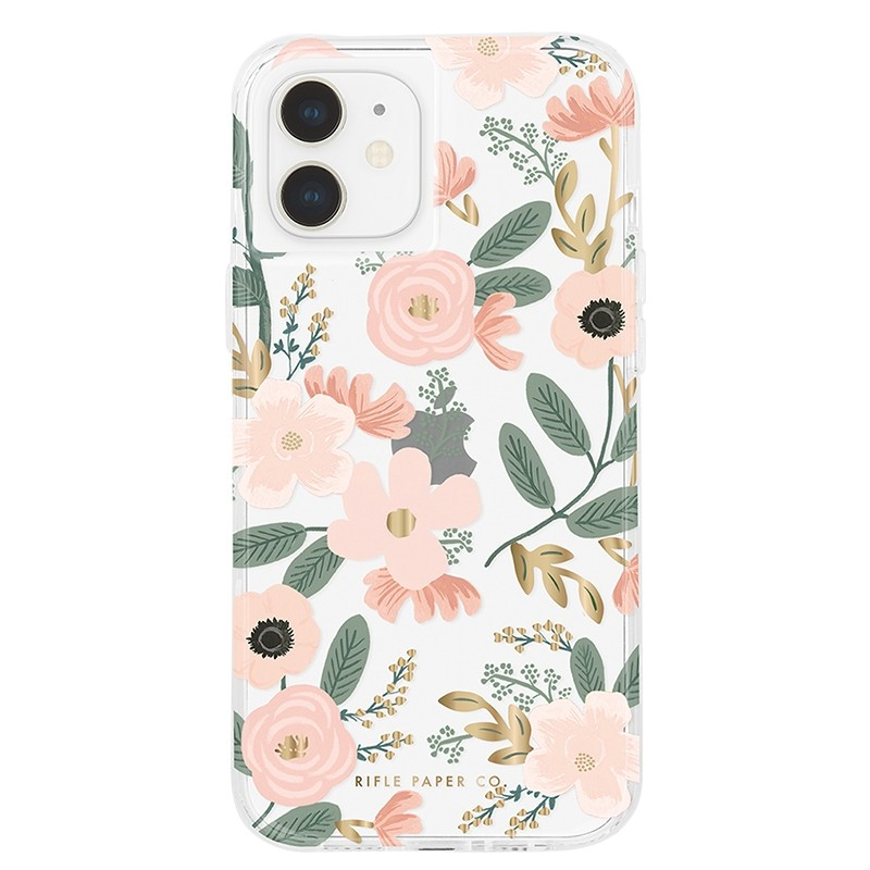 Case-Mate - Rifle Paper Flower Case iPhone 12 Mini 5.4 inch 01