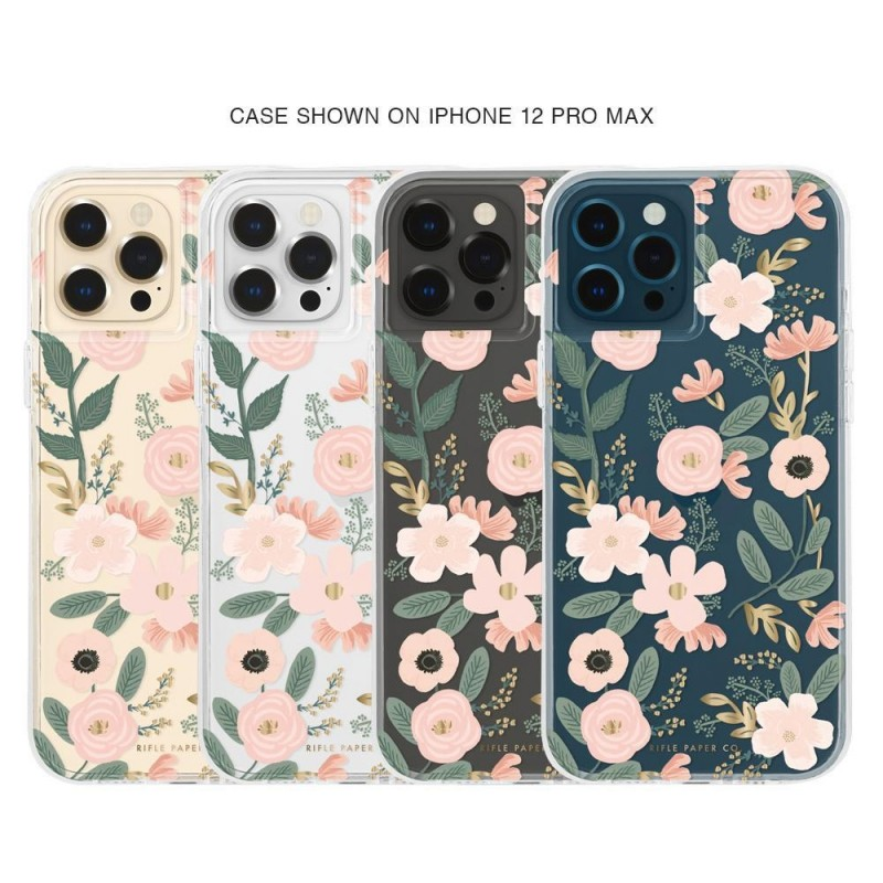Case-Mate - Rifle Paper Flower Case iPhone 12 Pro Max 6.7 inch Wild Flowers 04