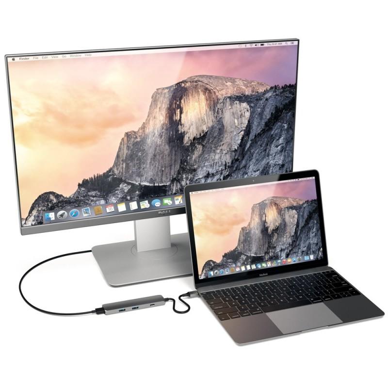 Satechi USB-C Multi-Port 4K HDMI Adapter Space Grey - 3