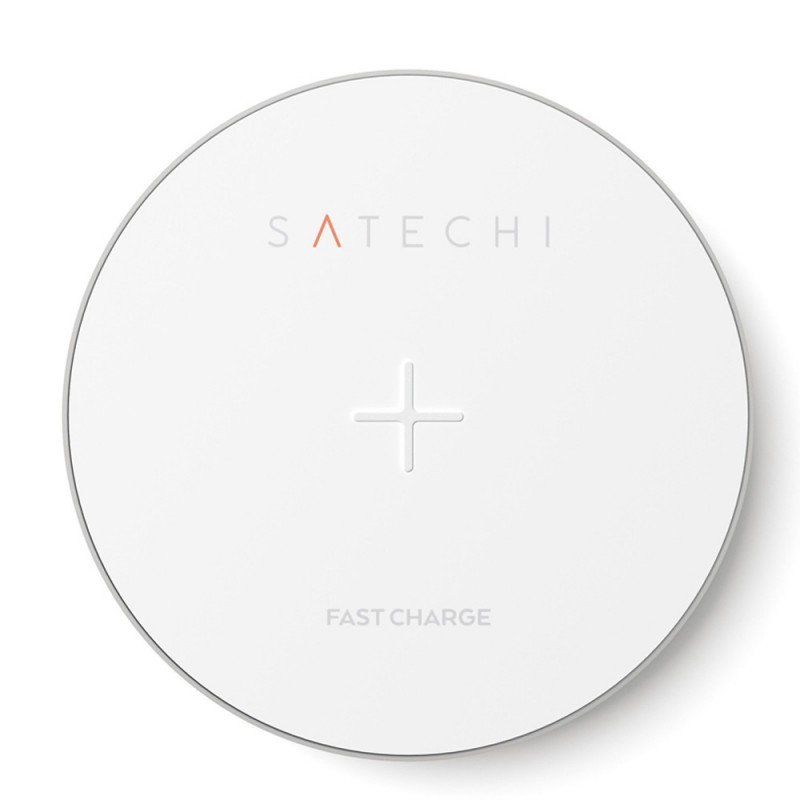 Satechi Wireless Qi Charger Zilver - 2