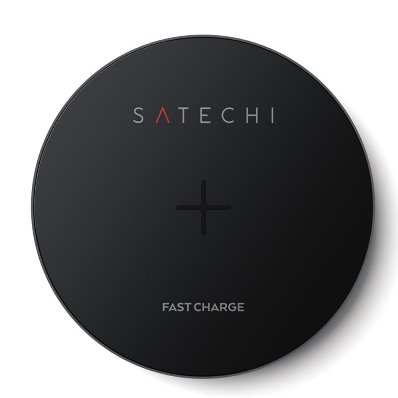 Satechi Wireless Qi Charger Space Grey - 2