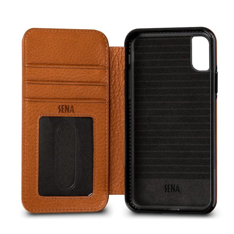Sena - Bence Wallet Book iPhone 8 Plus/7 Plus brown 03