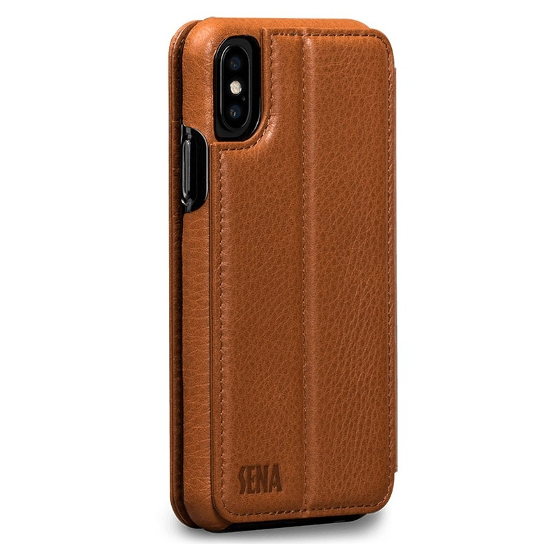 Sena - Bence Wallet Book iPhone 8 Plus/7 Plus brown 02