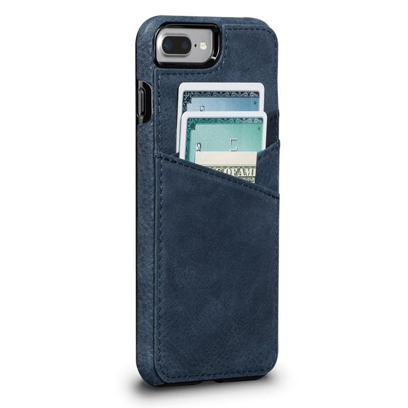Sena Bence Lugano Wallet iPhone 8 Plus/7 Plus Blauw - 1