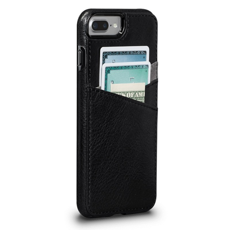 Sena Bence Lugano Wallet iPhone 8 Plus/7 Plus Zwart - 1