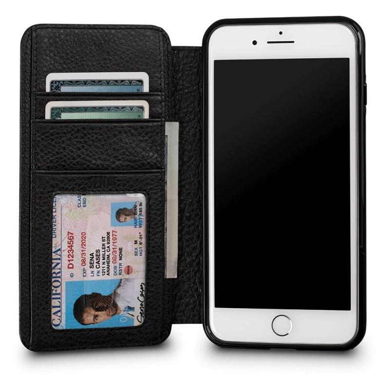 Sena Bence Wallet Book iPhone 8 Plus/7 Plus Zwart - 2