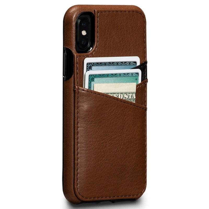 Sena Deen Lugano Wallet Phone X/XS Hoes Bruin 01