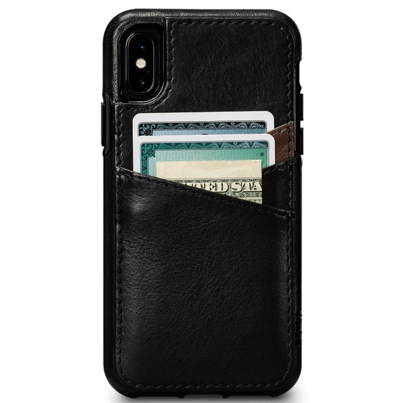 Sena Deen Lugano Wallet Phone X/XS Hoes Zwart 02