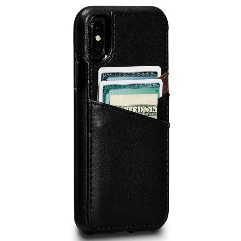 Sena Deen Lugano Wallet Phone X/XS Hoes Zwart 01
