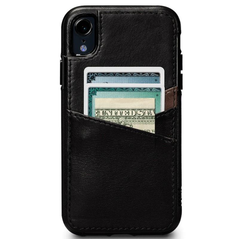 Sena Deen Lugano Wallet Phone XR Hoes Zwart 02
