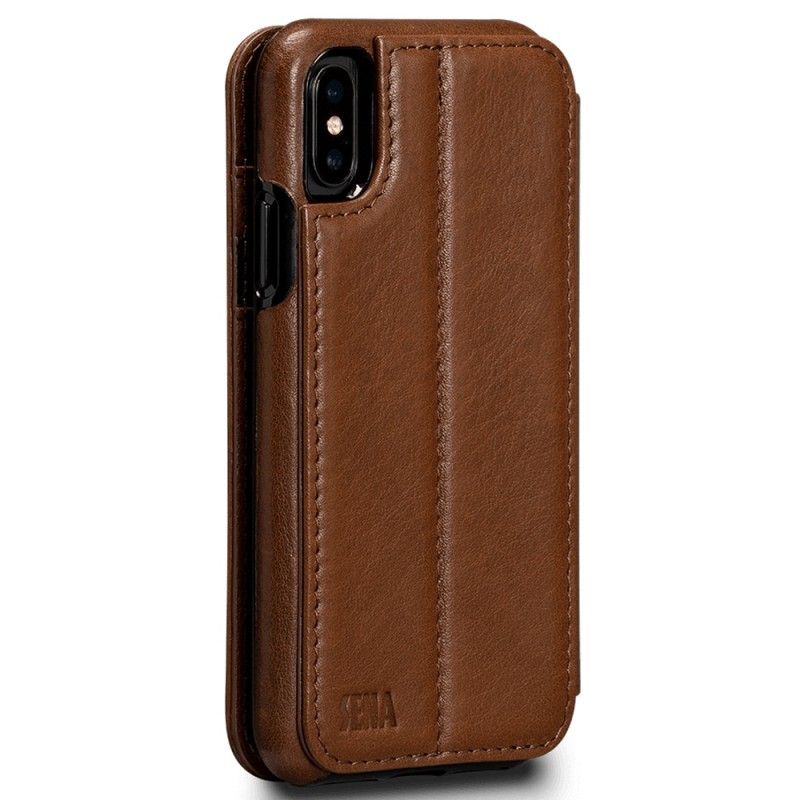 Sena Deen Wallet Book iPhone X/XS Bruin 02