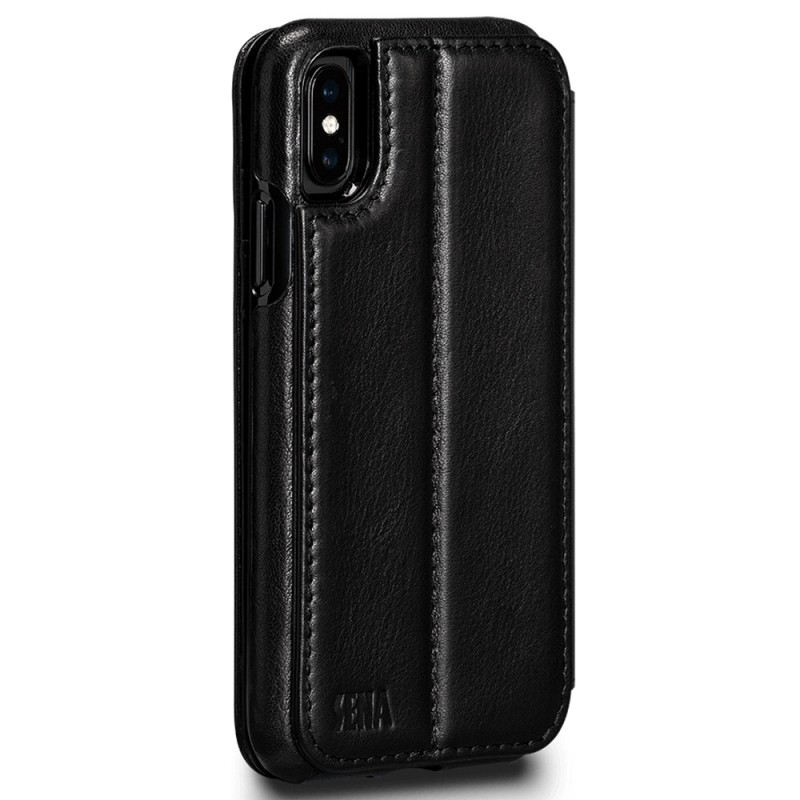 Sena Deen Wallet Book iPhone X/XS Zwart 02
