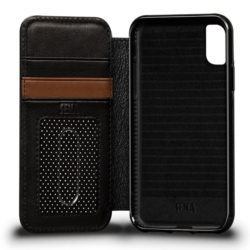 Sena Deen Wallet Book iPhone X/XS Zwart 04