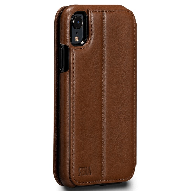 Sena Deen Wallet Book iPhone XR Bruin 02
