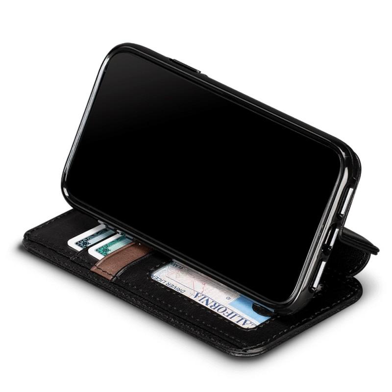 Sena Deen Wallet Book iPhone XR Zwart 05