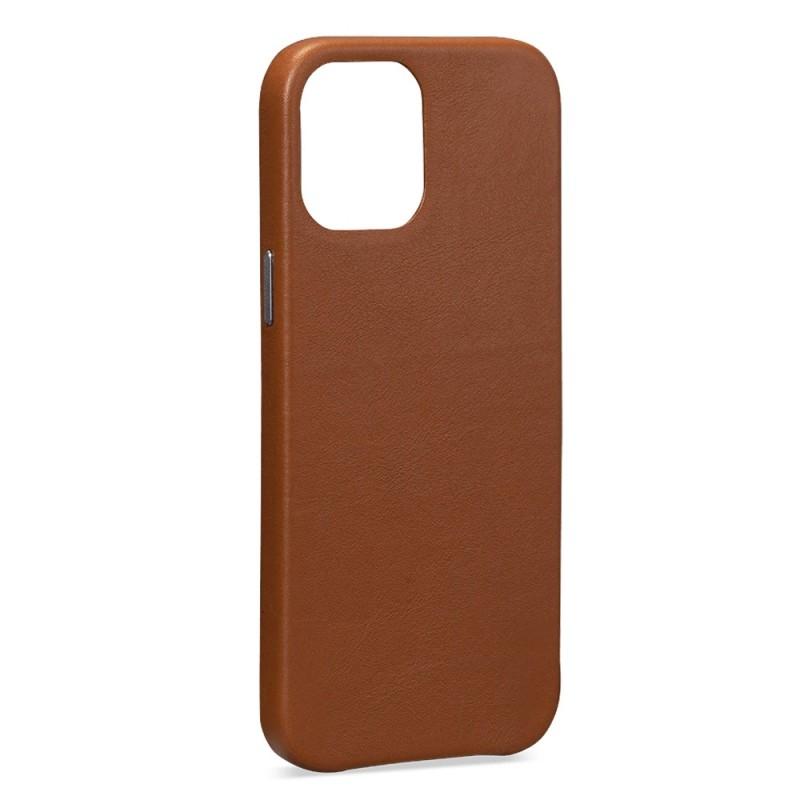 Sena Leather Skin iPhone 12 / 12 Pro 6.1 inch Bruin - 4
