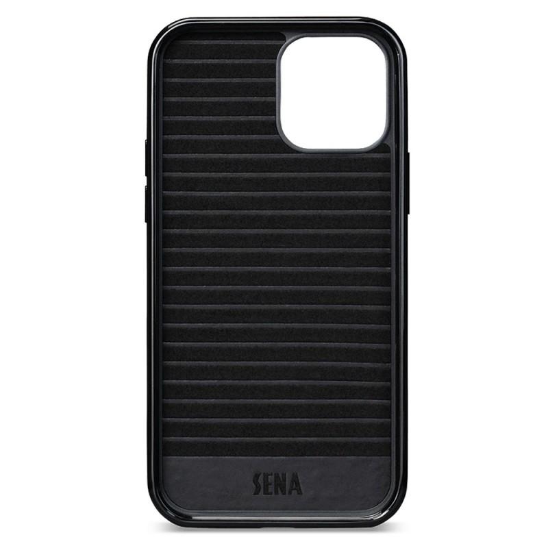 Sena Lugano Wallet iPhone 12 / 12 Pro Zwart - 3