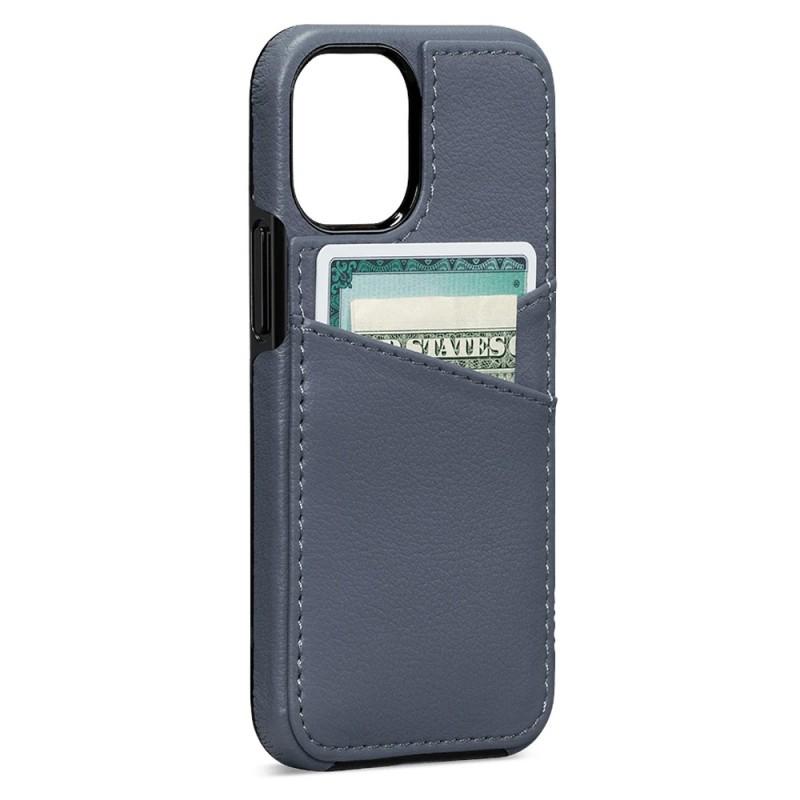 Sena Lugano Wallet iPhone 12 Mini Blauw - 1