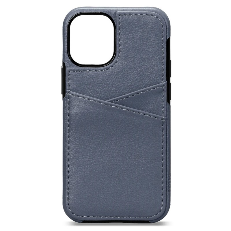 Sena Lugano Wallet iPhone 12 Mini Blauw - 3