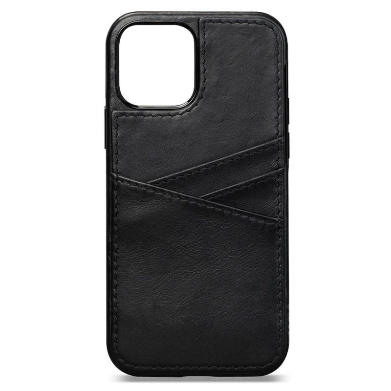 Sena Lugano Wallet iPhone 12 Mini Zwart - 3