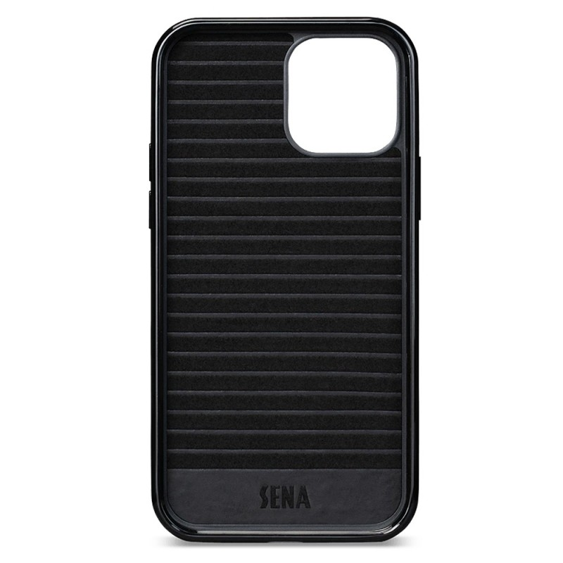 Sena Lugano Wallet iPhone 12 Pro Max Zwart - 3