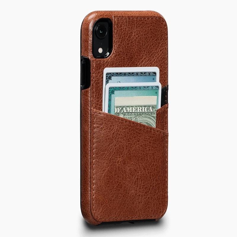 Sena Deen Lugano Wallet iPhone XR Cognac - 1