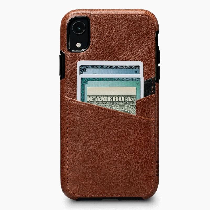 Sena Deen Lugano Wallet iPhone XR Cognac - 4