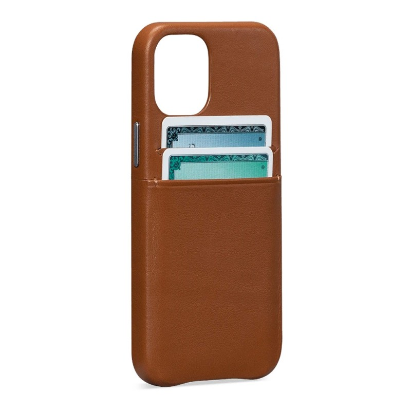 Sena Snap On Wallet iPhone 12 / 12 Pro 6.1 inch Bruin - 1