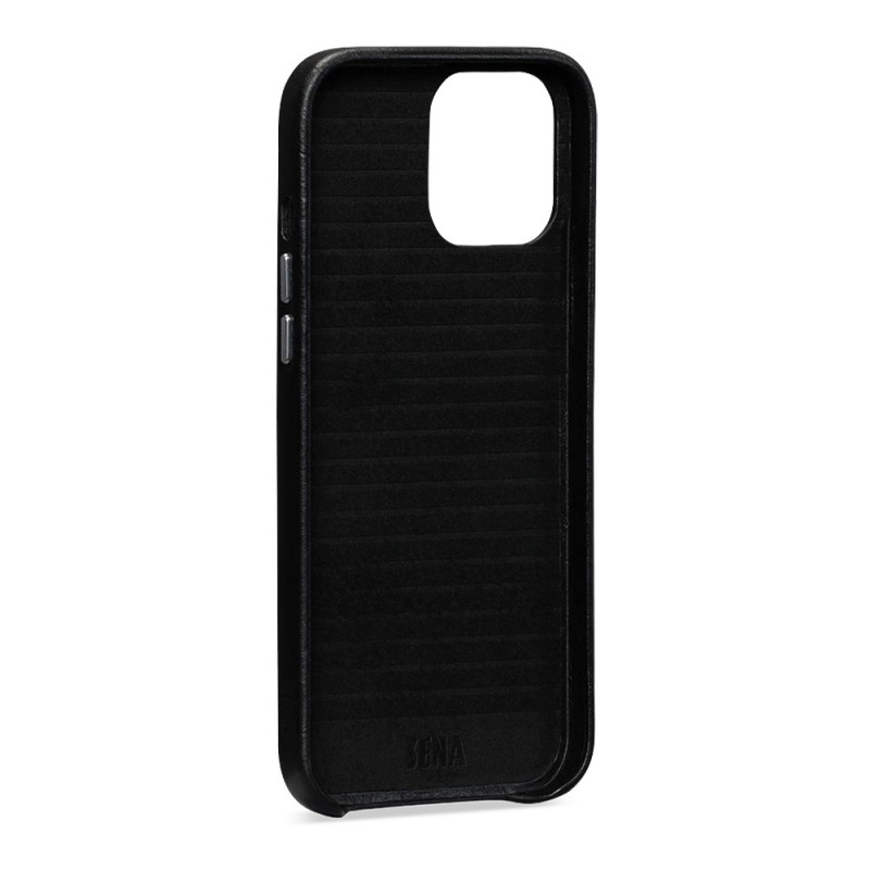 Sena Snap On Wallet iPhone 12 / 12 Pro 6.1 inch Zwart - 3