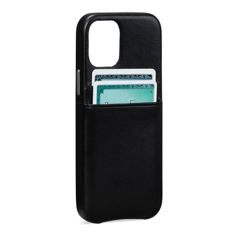 Sena Snap On Wallet iPhone 12 Pro Max Zwart - 1