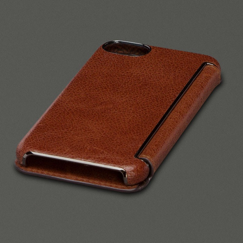 Sena Ultra Thin Wallet Book iPhone 7 Cognac - 4