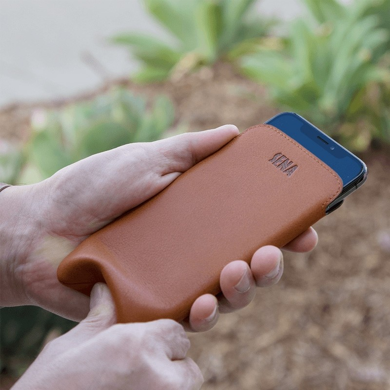 Sena Ultraslim Classic iPhone 8/7/6S/6 Tan Brown - 4