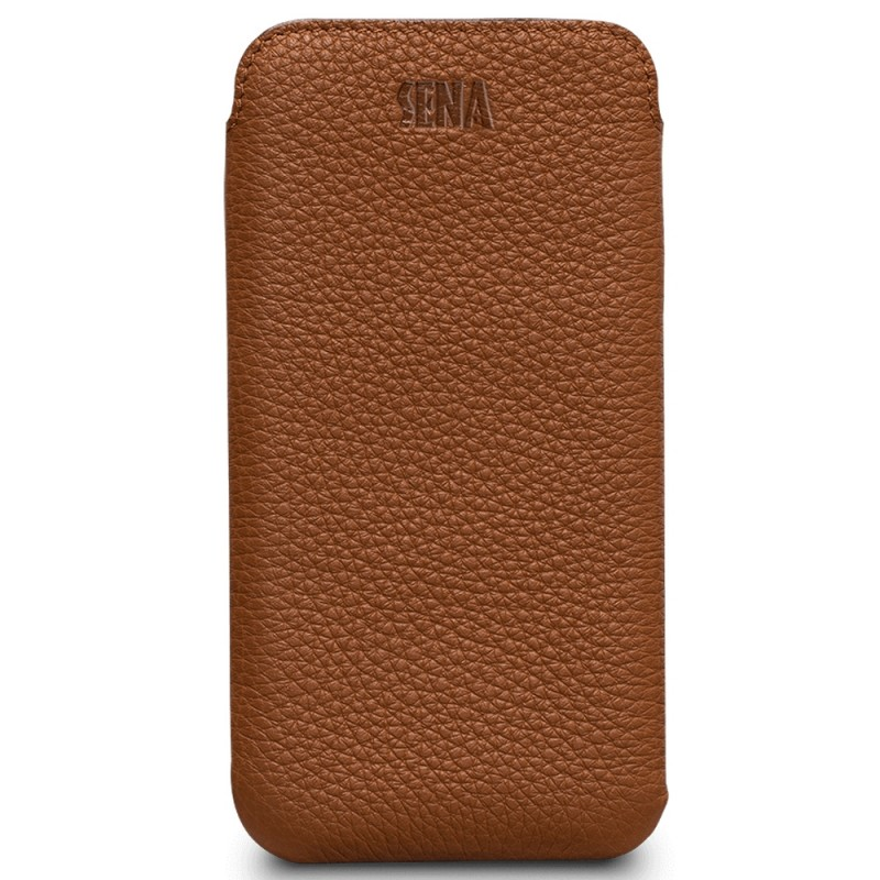 Sena UltraSlim iPhone XR Sleeve Bruin 04