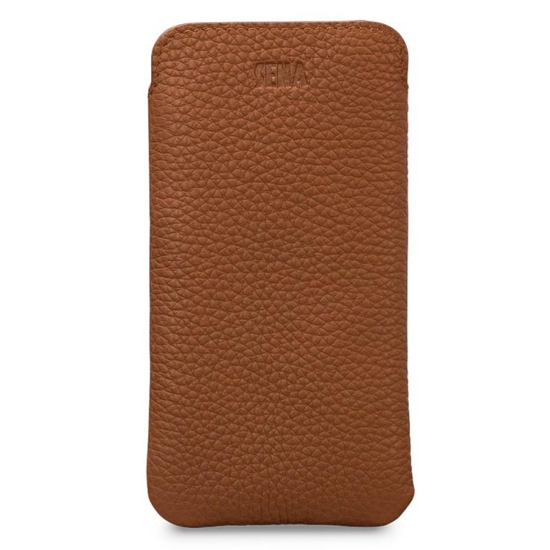 Sena UltraSlim Sleeve iPhone 12 Mini Bruin - 1