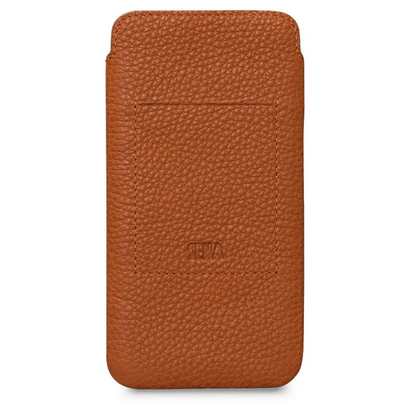 Sena UltraSlim Wallet iPhone 12 / 12 Pro 6.1 inch Bruin - 2