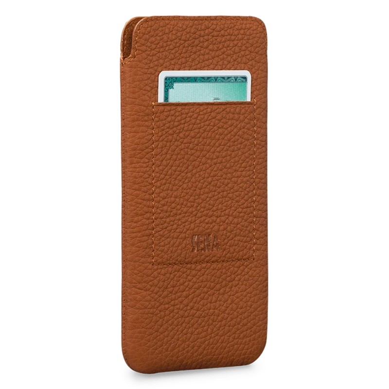 Sena UltraSlim Wallet iPhone 12 Mini Bruin - 1