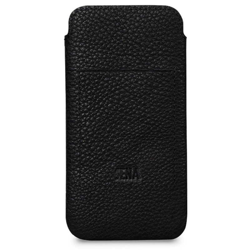 Sena UltraSlim Wallet iPhone 12 Pro Max Zwart - 3