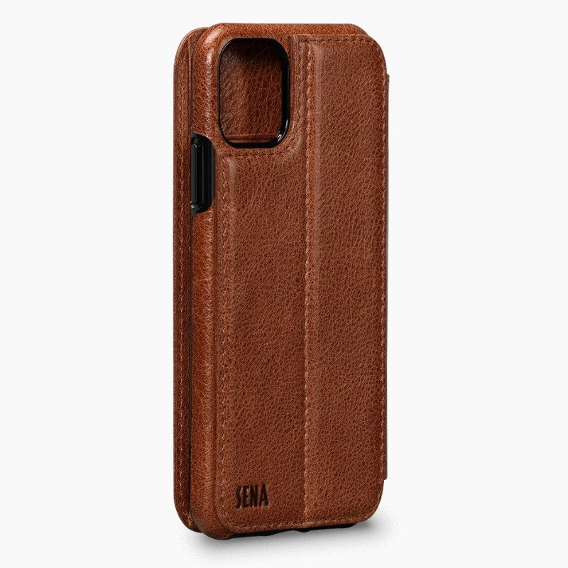 Sena Wallet Book iPhone 11 Bruin - 4