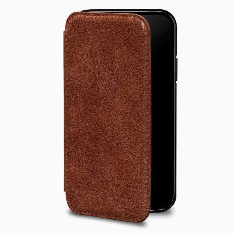 Sena Deen Wallet Book iPhone XR Cognac - 1