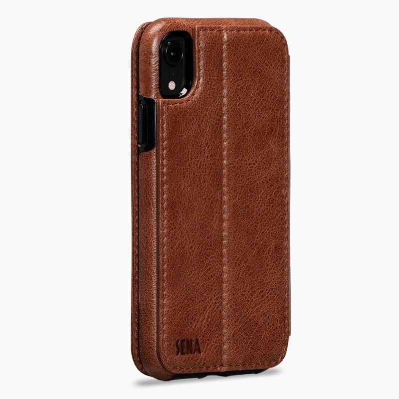 Sena Deen Wallet Book iPhone XR Cognac - 2