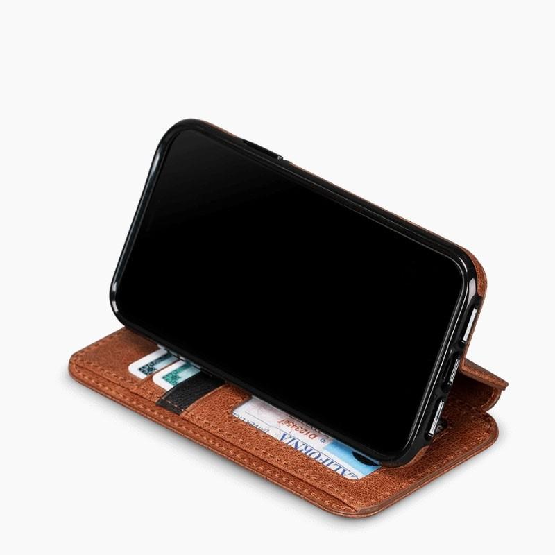Sena Deen Wallet Book iPhone XR Cognac - 3
