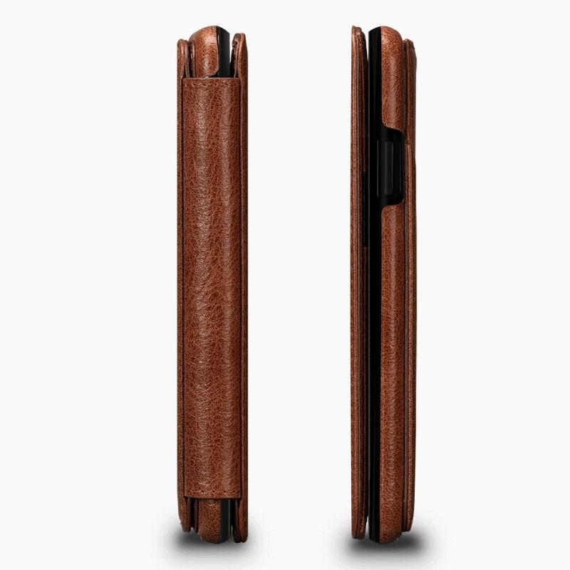 Sena Deen Wallet Book iPhone XR Cognac - 5