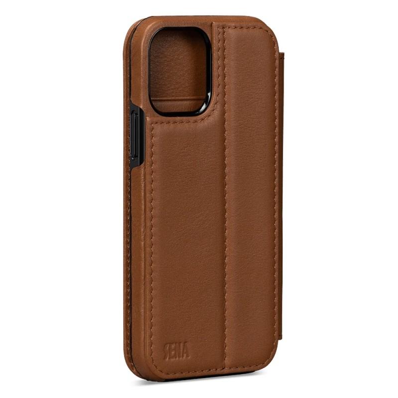 Sena WalletBook iPhone 12 / 12 Pro Bruin - 2