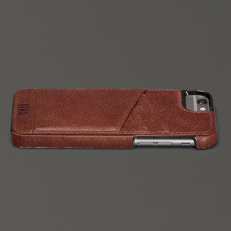 Sena Lugano Wallet iPhone 6 Plus Brown - 4