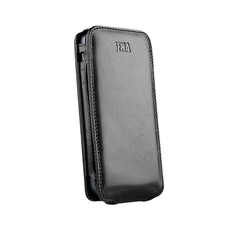 Sena Magnetflipper iPhone 5 Croco Black - 2