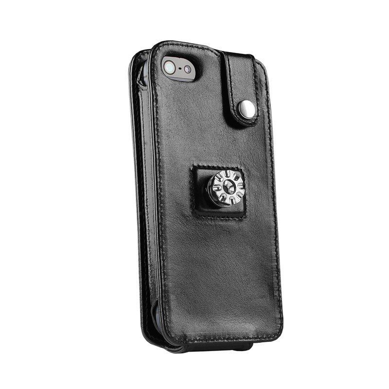 Sena Magnetflipper iPhone 5 Croco Black - 4