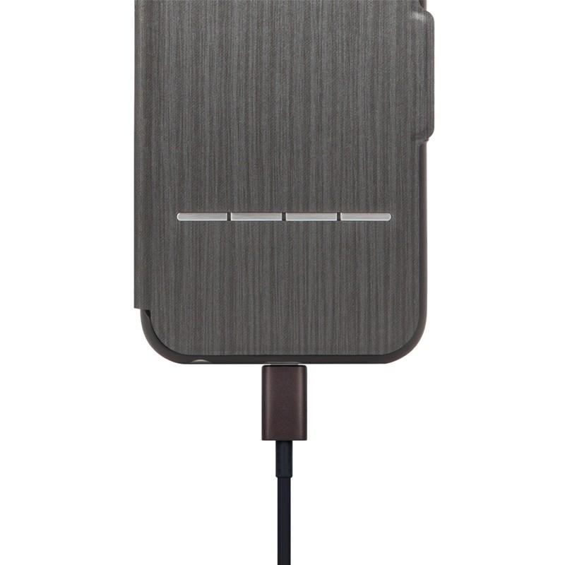 Moshi SenseCover iPhone 6 Plus Steel Black - 3