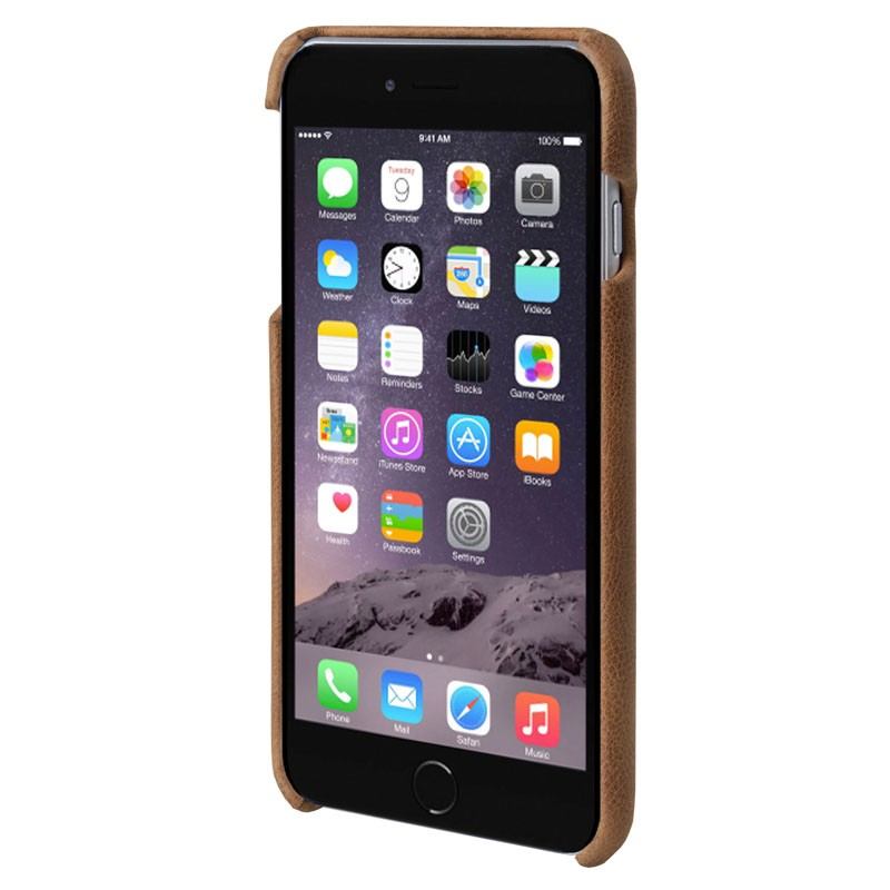HEX Solo Wallet Case iPhone 6 Plus Dressed Brown - 2