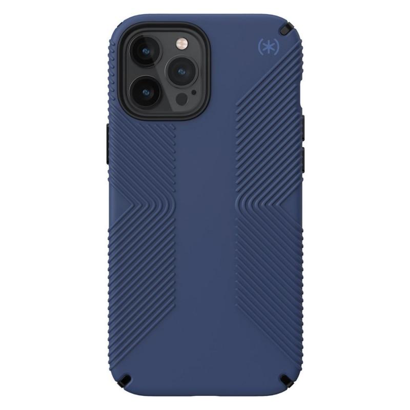 Speck Presidio Grip Case iPhone 12 / 12 Pro Blauw - 1